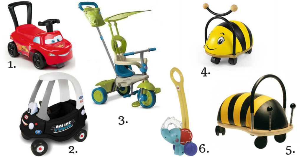 10 pomysłow na prezenty pod choinkę dla rocznego dziecka