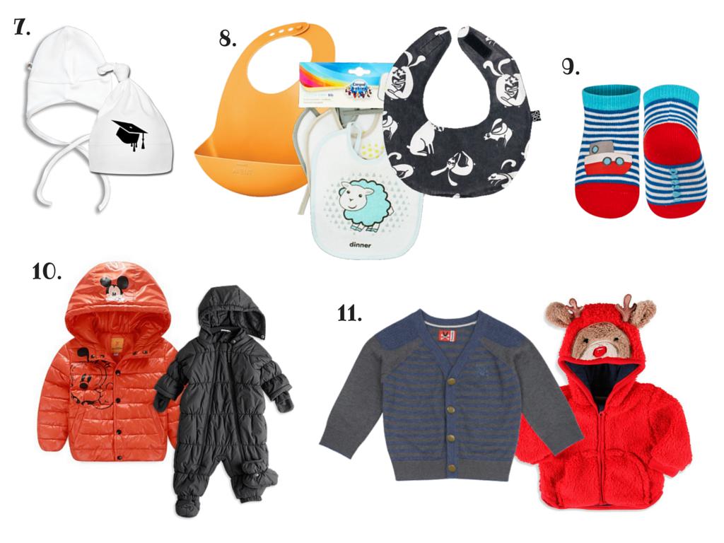 jak łączyć ubranka dla niemowląt