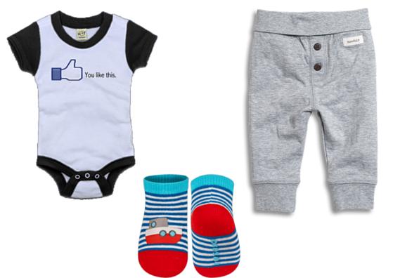 ubranka dla noworodka - rodzaje