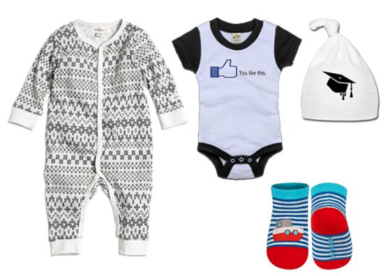 rodzaje ubranek niemowlęcych