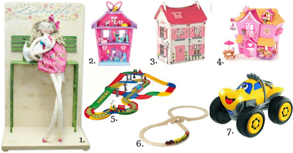 pomysły prezentów dla dwulatka
